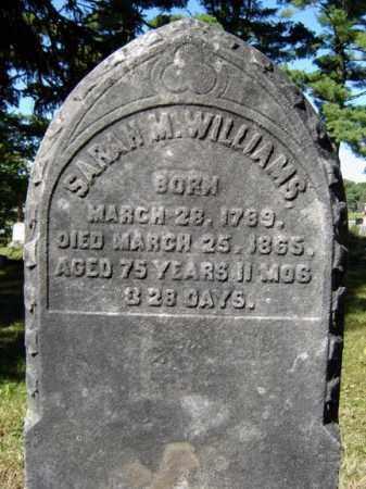 WILLIAMS, SARAH M - Albany County, New York | SARAH M WILLIAMS - New York Gravestone Photos