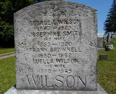 WILSON, GEORGE L - Albany County, New York | GEORGE L WILSON - New York Gravestone Photos