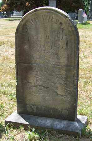 WILSON, JOHN - Albany County, New York   JOHN WILSON - New York Gravestone Photos