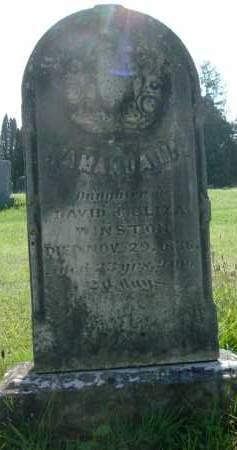 WINSTON, AMANDA M - Albany County, New York | AMANDA M WINSTON - New York Gravestone Photos