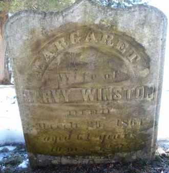 WINSTON, MARGARET - Albany County, New York | MARGARET WINSTON - New York Gravestone Photos