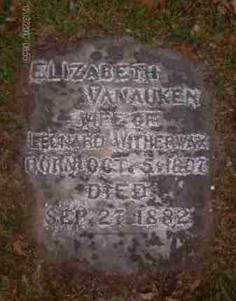 VAN AUKEN, ELIZABETH - Albany County, New York | ELIZABETH VAN AUKEN - New York Gravestone Photos
