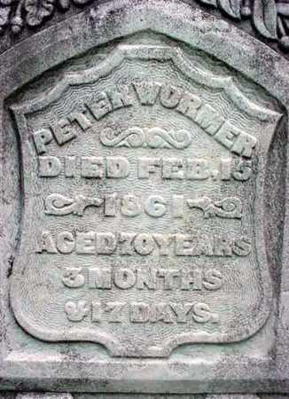 WORMER, PETER - Albany County, New York   PETER WORMER - New York Gravestone Photos