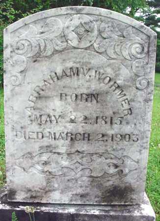 WORMER, ABRAHAM V - Albany County, New York   ABRAHAM V WORMER - New York Gravestone Photos
