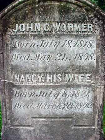 WORMER, JOHN C - Albany County, New York   JOHN C WORMER - New York Gravestone Photos