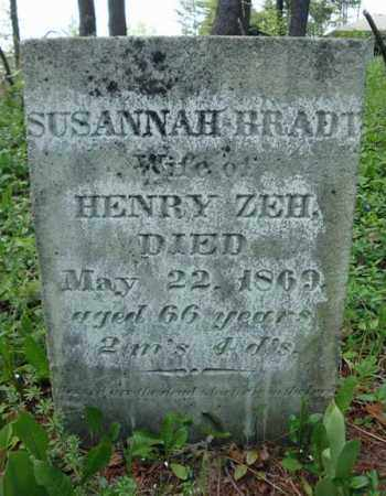 BRADT ZEH, SUSANNAH - Albany County, New York | SUSANNAH BRADT ZEH - New York Gravestone Photos