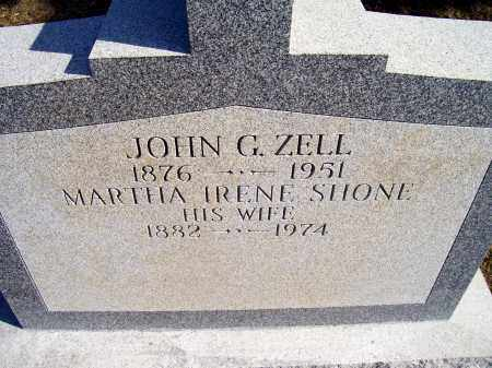 ZELL, MARTHA IRENE - Albany County, New York | MARTHA IRENE ZELL - New York Gravestone Photos