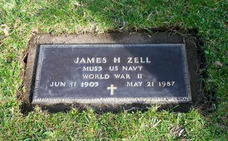 ZELL (WWII), JAMES H. - Albany County, New York | JAMES H. ZELL (WWII) - New York Gravestone Photos