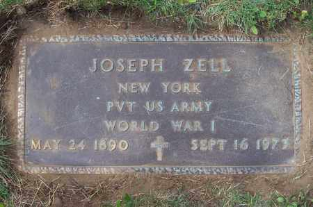 ZELL, JOSEPH - Albany County, New York | JOSEPH ZELL - New York Gravestone Photos