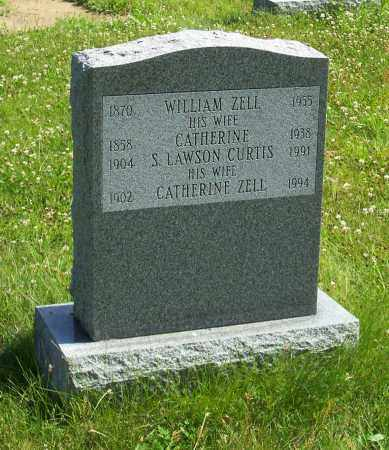 ZELL CURTIS, CATHERINE - Albany County, New York | CATHERINE ZELL CURTIS - New York Gravestone Photos