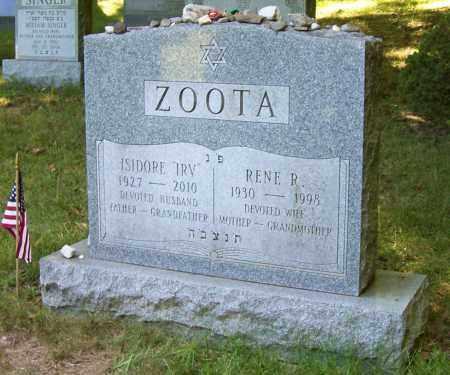 ZOOTA, ISIDORE - Albany County, New York | ISIDORE ZOOTA - New York Gravestone Photos