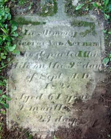 VAN AERNAM, GEORGE - Albany County, New York | GEORGE VAN AERNAM - New York Gravestone Photos