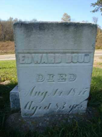 DOUD, EDWARD - Allegany County, New York | EDWARD DOUD - New York Gravestone Photos