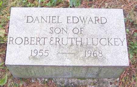 LUCKEY, DANIEL EDWARD - Allegany County, New York | DANIEL EDWARD LUCKEY - New York Gravestone Photos