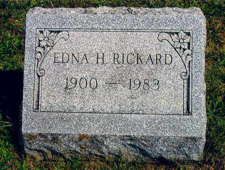 RICKARD, EDNA HELEN - Broome County, New York | EDNA HELEN RICKARD - New York Gravestone Photos