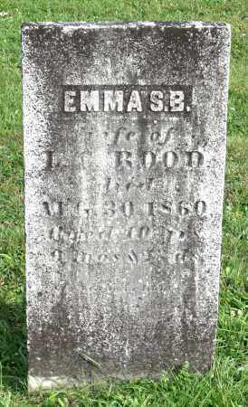 ROOD, EMMA S. B. - Broome County, New York   EMMA S. B. ROOD - New York Gravestone Photos