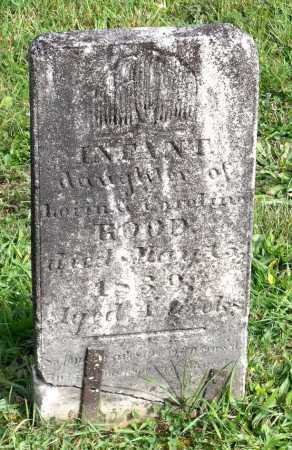 ROOD, INFANT - Broome County, New York | INFANT ROOD - New York Gravestone Photos