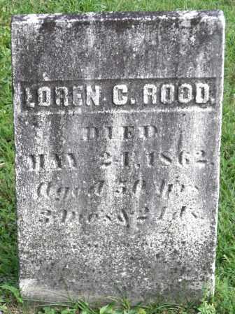 ROOD, LOREN C. - Broome County, New York | LOREN C. ROOD - New York Gravestone Photos