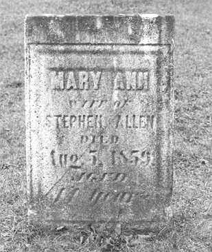 SHELDON, MARY ANN - Cattaraugus County, New York | MARY ANN SHELDON - New York Gravestone Photos