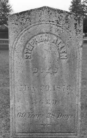 ALLEN, STEPHEN - Cattaraugus County, New York   STEPHEN ALLEN - New York Gravestone Photos