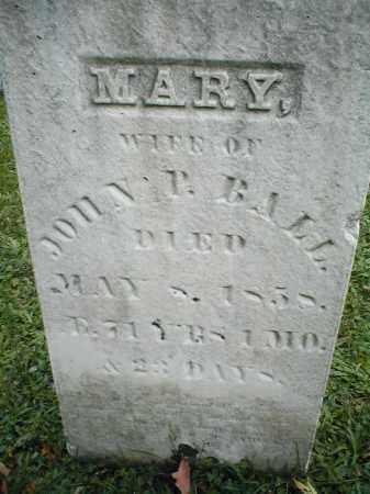 MARSEILLES BALL, MARY - Cattaraugus County, New York | MARY MARSEILLES BALL - New York Gravestone Photos