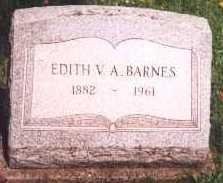 BARNES, EDITH - Cattaraugus County, New York   EDITH BARNES - New York Gravestone Photos