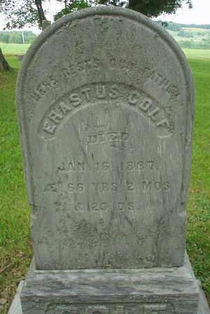 COLF, ERASTUS - Cattaraugus County, New York   ERASTUS COLF - New York Gravestone Photos