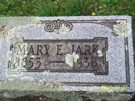 JARK, MARY ELIZABETH - Cattaraugus County, New York   MARY ELIZABETH JARK - New York Gravestone Photos