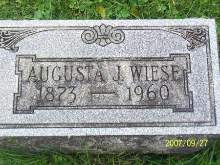 WEISE, AUGUSTA CAROLINE - Cattaraugus County, New York | AUGUSTA CAROLINE WEISE - New York Gravestone Photos