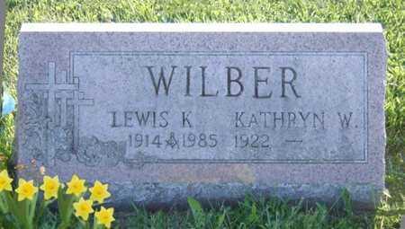WILBER, KATHRYN W. - Cattaraugus County, New York | KATHRYN W. WILBER - New York Gravestone Photos
