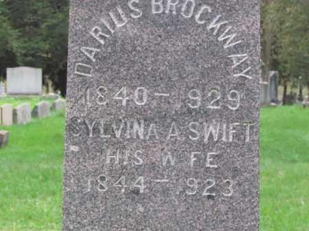 SWIFT BROCKWAY, SYLVINA - Cayuga County, New York | SYLVINA SWIFT BROCKWAY - New York Gravestone Photos