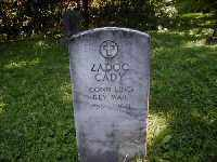 CADY (RW), ZADOC - Cayuga County, New York | ZADOC CADY (RW) - New York Gravestone Photos