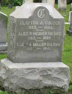 CULVER, ALICE R. - Cayuga County, New York | ALICE R. CULVER - New York Gravestone Photos