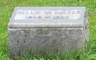 CULVER, NELLIE M. - Cayuga County, New York | NELLIE M. CULVER - New York Gravestone Photos