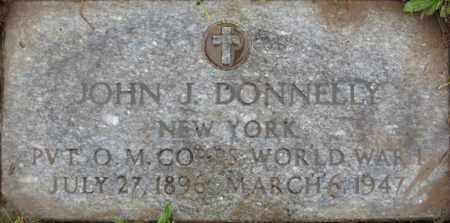 DONNELLY (WWI), JOHN J. - Cayuga County, New York | JOHN J. DONNELLY (WWI) - New York Gravestone Photos