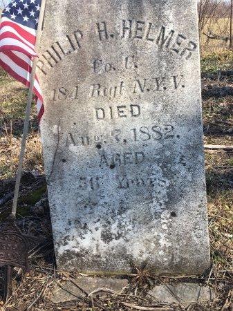 HELMER, PHILIP H. - Cayuga County, New York | PHILIP H. HELMER - New York Gravestone Photos