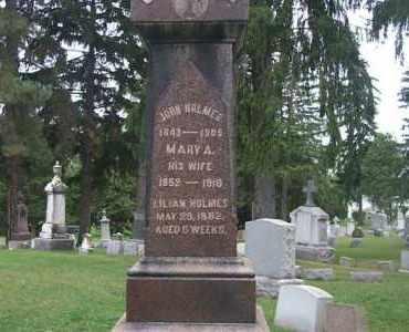 WALL, MARY A - Cayuga County, New York | MARY A WALL - New York Gravestone Photos