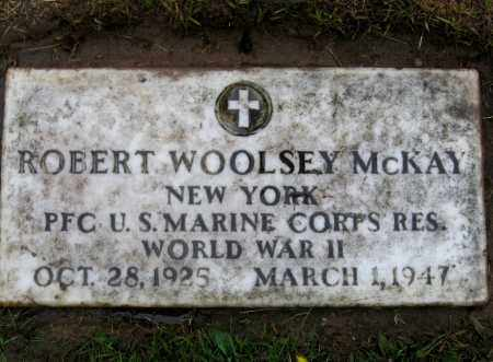 MCKAY, ROBERT WOOLSEY - Cayuga County, New York | ROBERT WOOLSEY MCKAY - New York Gravestone Photos