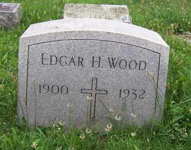 WOOD, EDGAN HOLMES - Cayuga County, New York   EDGAN HOLMES WOOD - New York Gravestone Photos