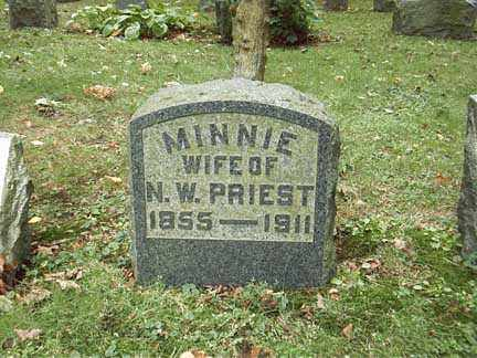 ABEEL, MARY MINNIE - Chautauqua County, New York | MARY MINNIE ABEEL - New York Gravestone Photos
