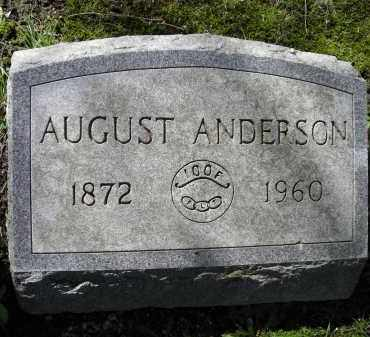 ANDERSON, AUGUST - Chautauqua County, New York | AUGUST ANDERSON - New York Gravestone Photos