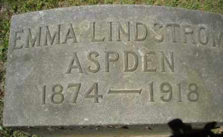 ASPDEN, EMMA - Chautauqua County, New York | EMMA ASPDEN - New York Gravestone Photos