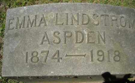 LINDSTROM ASPDEN, EMMA - Chautauqua County, New York | EMMA LINDSTROM ASPDEN - New York Gravestone Photos