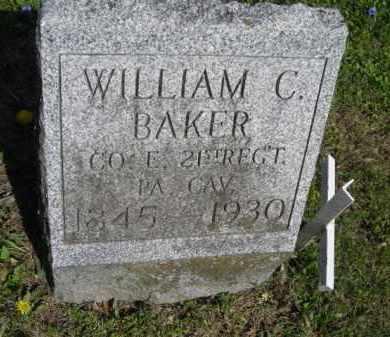 BAKER, WILLIAM - Chautauqua County, New York | WILLIAM BAKER - New York Gravestone Photos