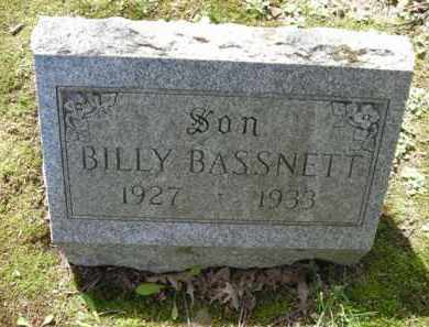 BASSNETT, BILLY - Chautauqua County, New York   BILLY BASSNETT - New York Gravestone Photos