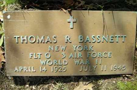 BASSNETT, THOMAS - Chautauqua County, New York | THOMAS BASSNETT - New York Gravestone Photos