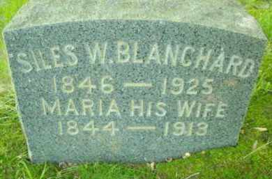 BLANCHARD, MARIA - Chautauqua County, New York | MARIA BLANCHARD - New York Gravestone Photos
