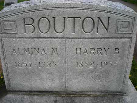 LEWIS BOUTON, ALMINA - Chautauqua County, New York | ALMINA LEWIS BOUTON - New York Gravestone Photos
