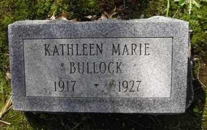 BULLOCK, KATHLEEN - Chautauqua County, New York | KATHLEEN BULLOCK - New York Gravestone Photos