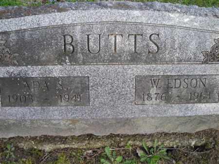 BUTTS, ADA - Chautauqua County, New York | ADA BUTTS - New York Gravestone Photos